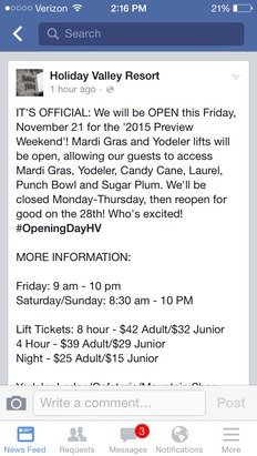 Opening Friday the 21st!!!