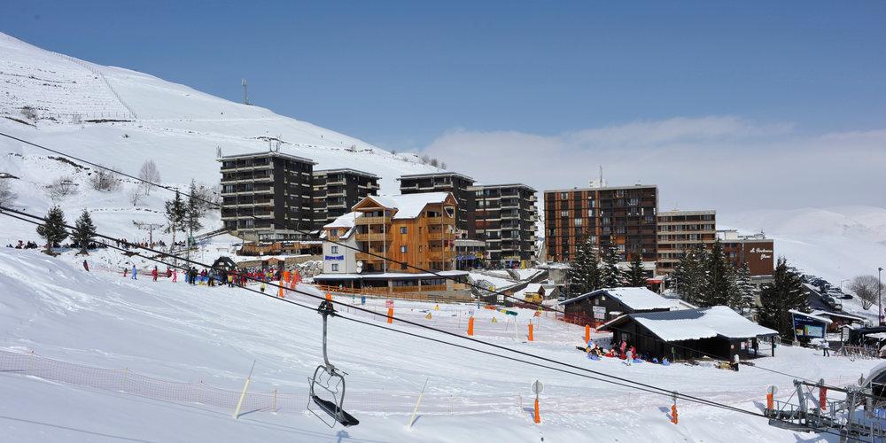 Vue sur la station de ski de Peyragudes - © JN HERRANZ / Maison de Peyragudes