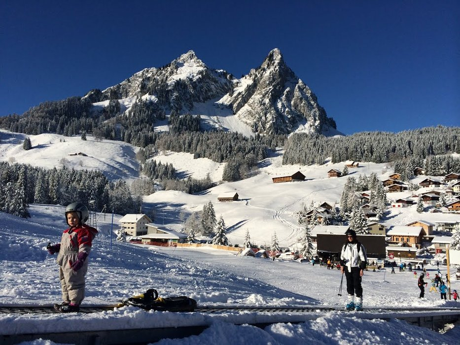 You can learn skiing easily here - © brunnialpthal