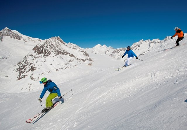 The most popular sport here is skiing for sure - © Aletsch Arena