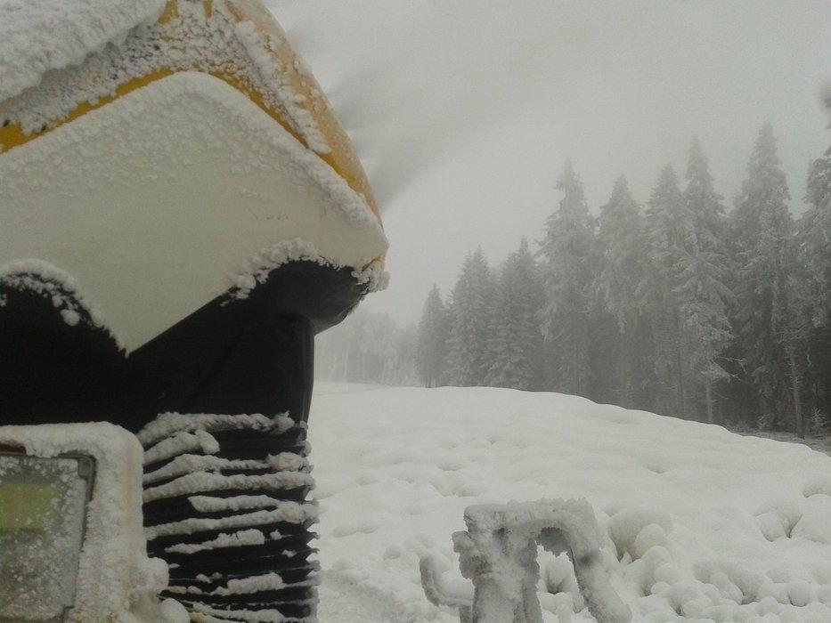 Skipark Červená Voda - na Bukové hoře (30.11.2014) - © facebook.com/SKIPARK.Cervena.Voda