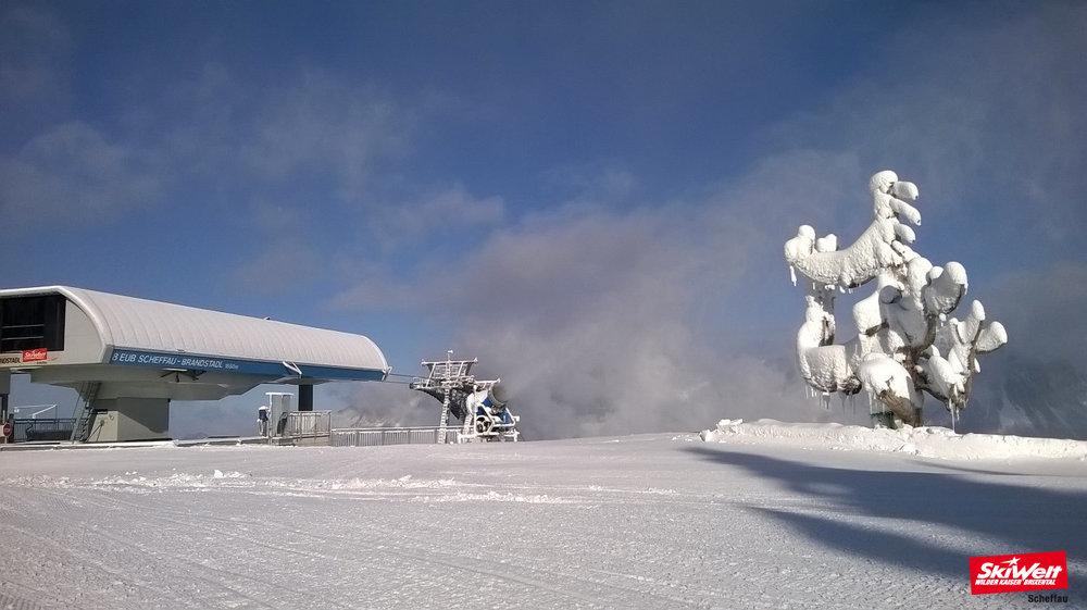 Langsam wird es winterlich  - © SkiWelt Wilder Kaiser - Brixental