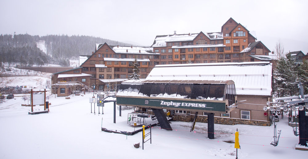 "Mother Nature delivered 5"" of fresh snow to Winter Park early November. - © Carl Frey/Winter Park Resort"