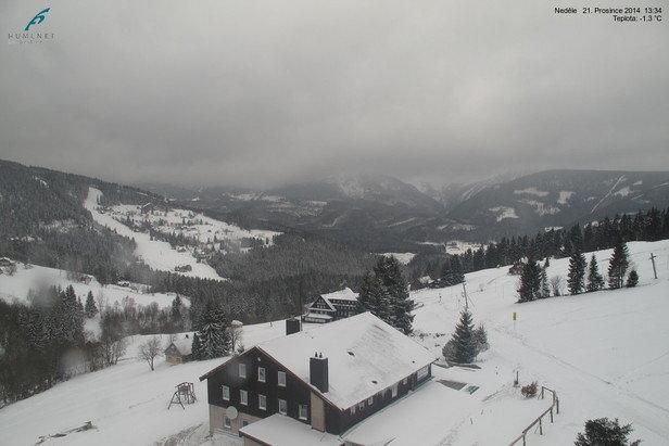 Pec pod Sněžkou 21.12.2014