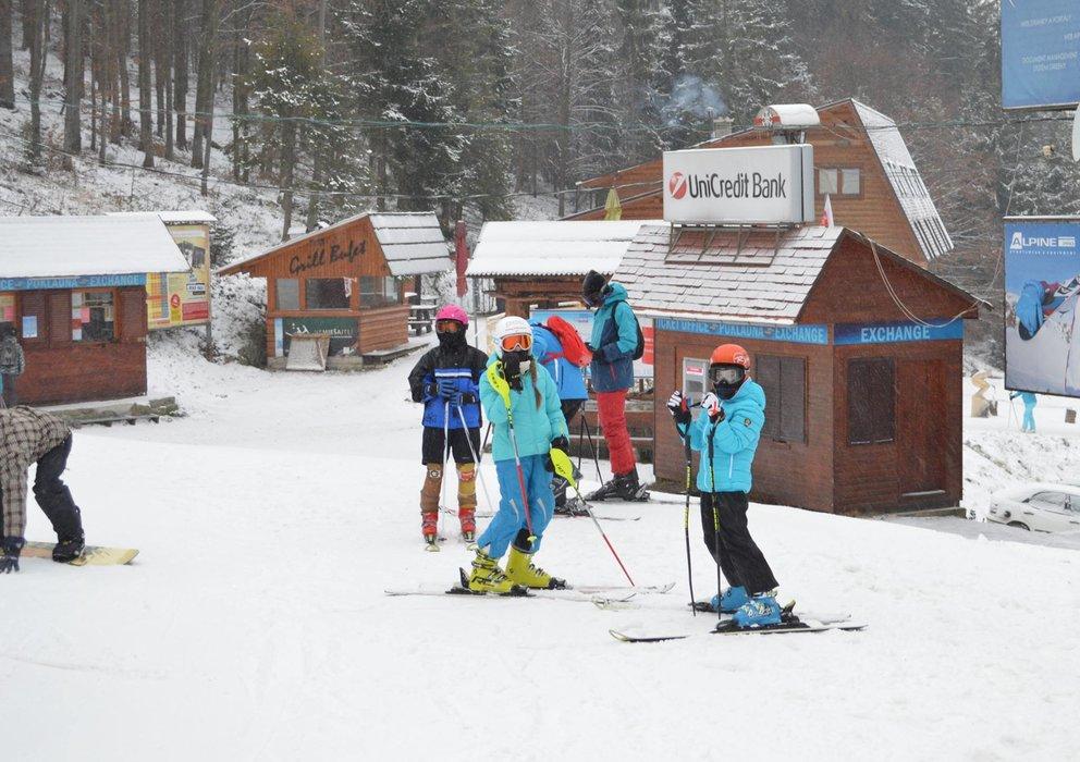 Vianočná lyžovačka na Veľkej Rači - 28.12.2014