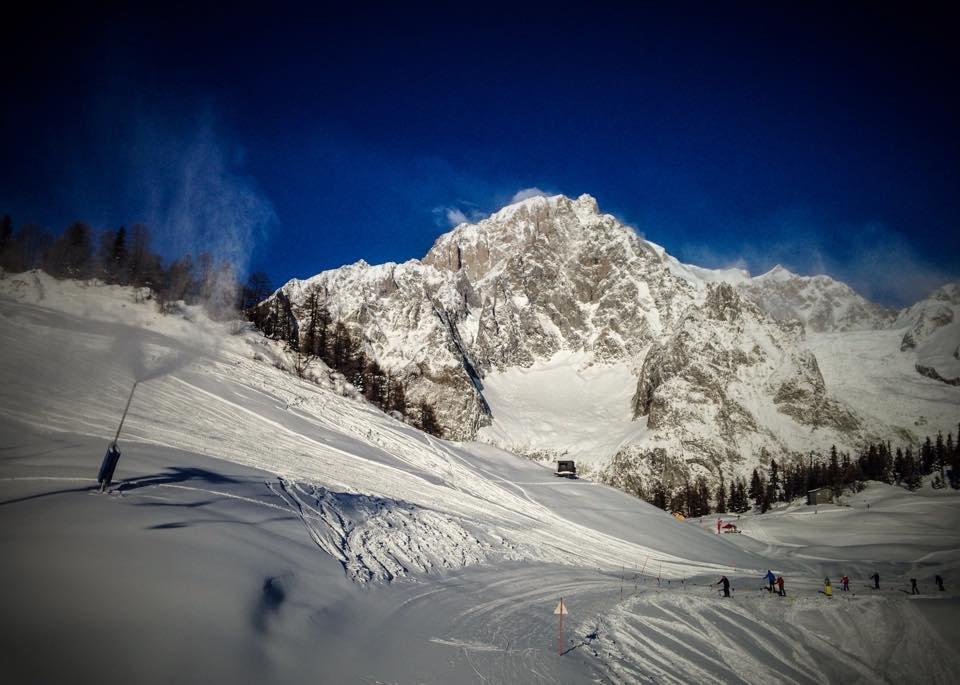 Courmayeur Dec. 29, 2014 - © Courmayeur Mont Blanc (Facebook)