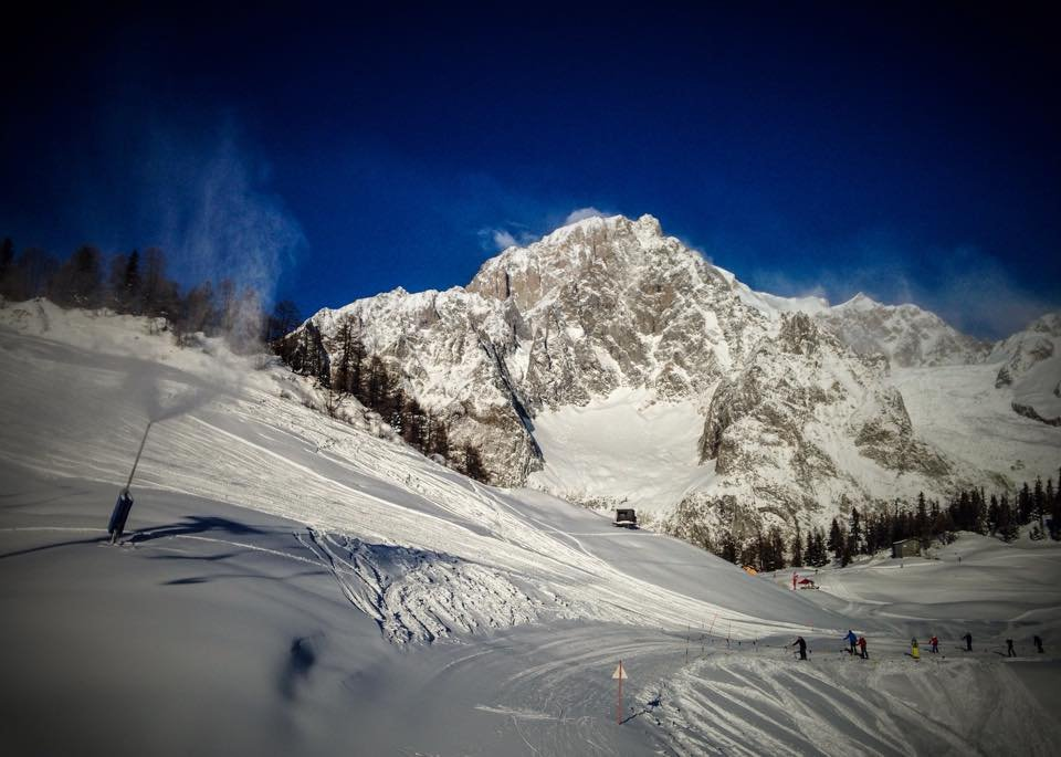 Courmayeur, 29 dic 2014 - © Courmayeur Mont Blanc (Facebook)
