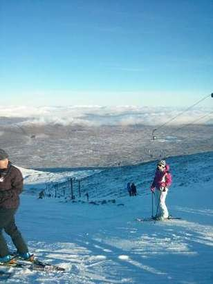 Was up on 29/12/14 and plenty of snow up top runs, no snow fall since but fingers crossed