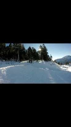 Rad day! Snow was great, but at mid day lines got tad bit long but single rider line was movin!