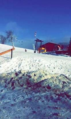 Wetter gut. .. Schnee naja... 02.01