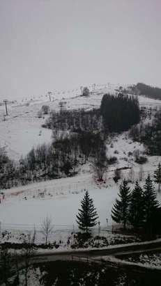 Pluie et neige mêlée ce matin