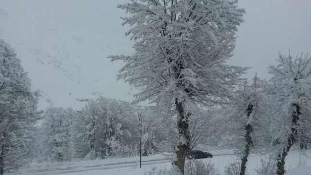 1 mois d'attente mais voila enfin de la neige..