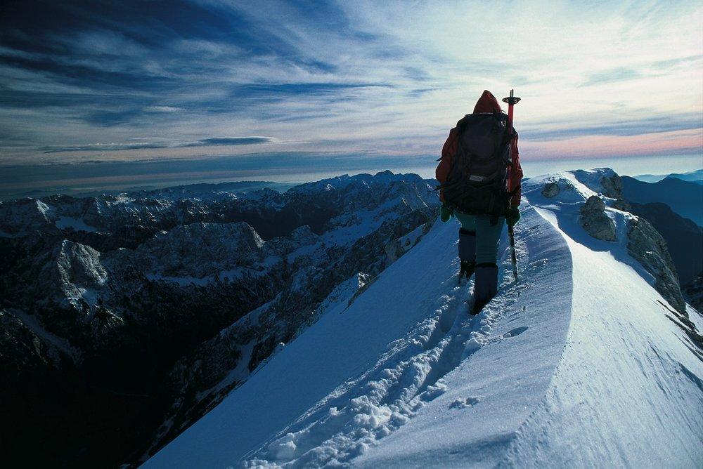 Beklimming van Jalovec - © J. Skok