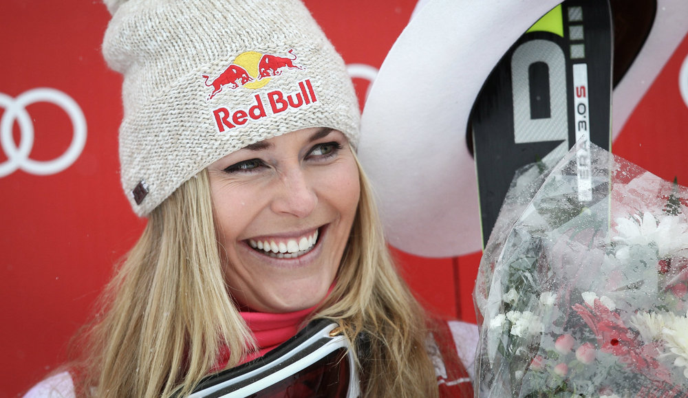 Lindsey Vonn in Lake Louise 2014 - © © Red Bull Media House