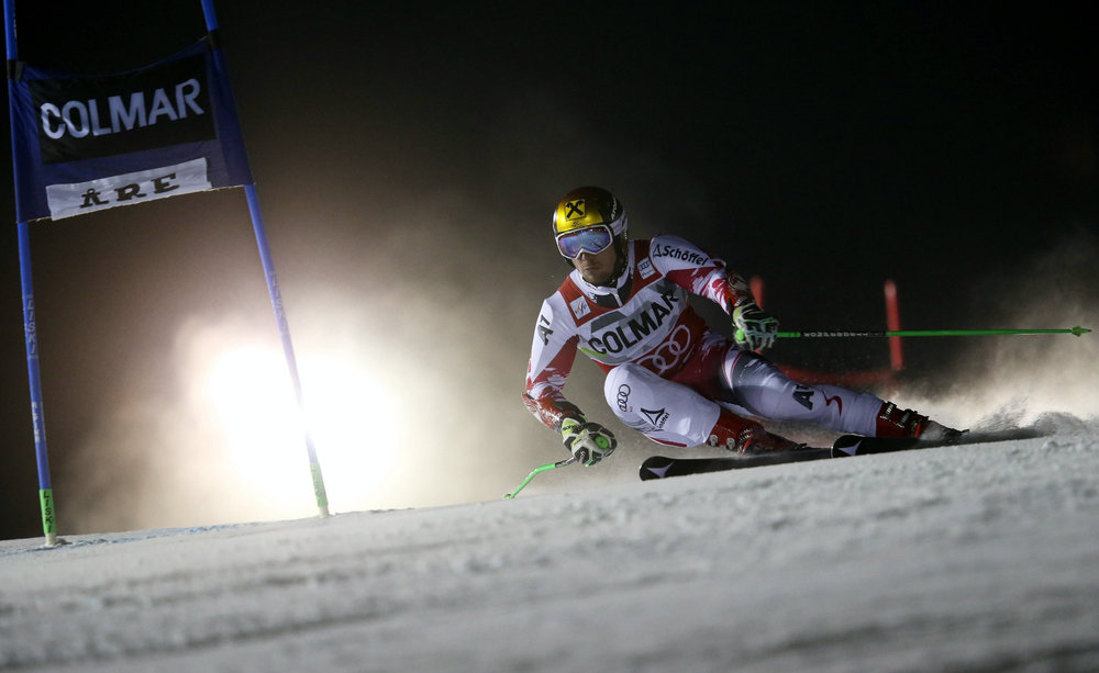 Marcel Hirscher beim Riesenslalom in Are - © © Red Bull Media House