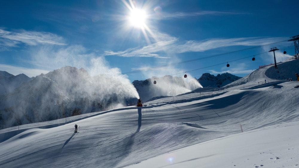 Glittering Snow - © Fellhornbahn GmbH