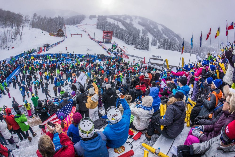 The 2015 Alpine World Ski Championships are a big deal. Here's how big. - © Kevin Krill-Crested Butte Photography