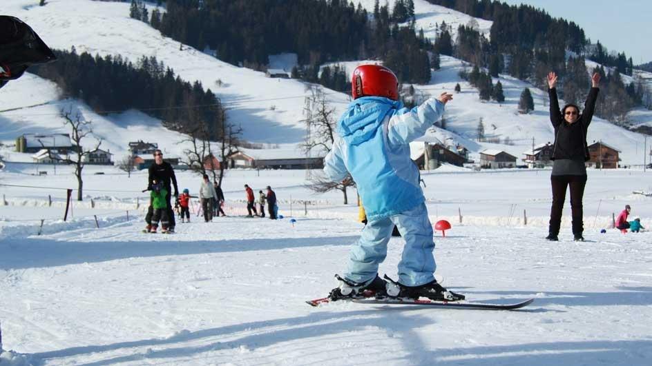 Spaß für die Kinder ist inbegriffen - © Skilift Neusell