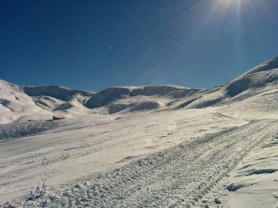 Neve spettacolare, piste lavorate!