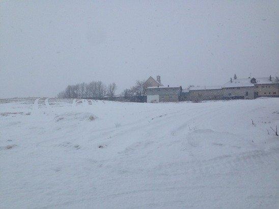 Il neige DDD flocons énorme