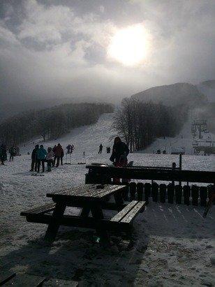 Neve fresca....fantastica,poca gente...