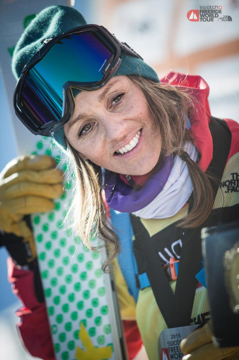 Freeride World Tour 2015 Fieberbrunn - © ©freerideworldtour.com / mia Maria Knoll