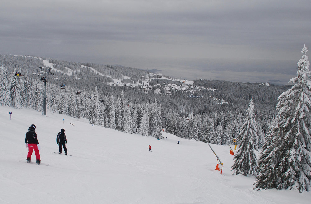 Kopaonik: Skistation im Winterwald - © Christoph Schrahe