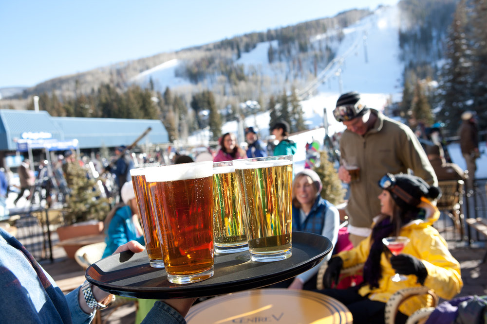 Sample the official beer brewed by Sierra Nevada exclusively for the World Championships. - © Jack Affleck