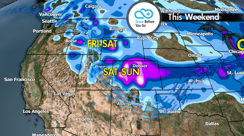 Snow Before You Go: Shifting Storm Track on the Horizon - © Meteorologist Chris Tomer