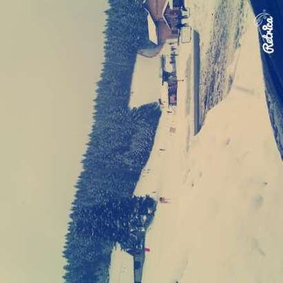 neve fresca...non male per i freerider