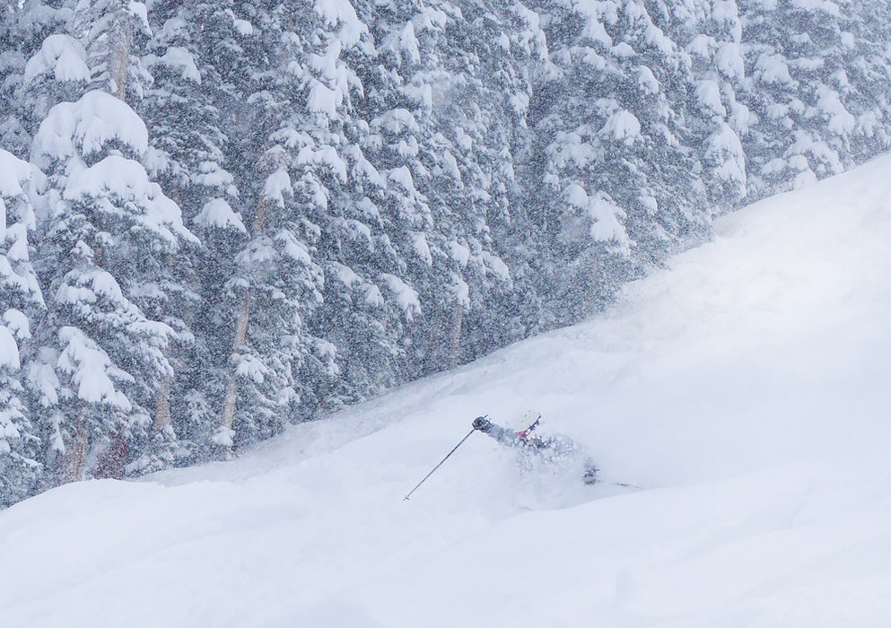 "Telluride received 29"" from this storm with more in the forecast. - © Telluride"