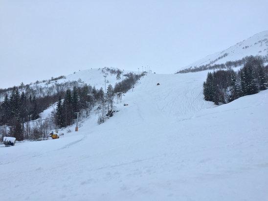 Bjørnestad crew har i år gjort dette til en fantastisk skiopplevelse. Best prep. ever!! Takk til crew på Bj.skisenter