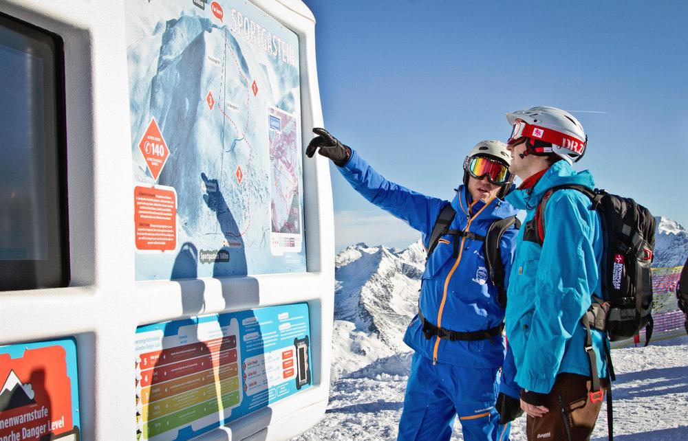 Freeriding muss sorgsam geplant werden - © Bergbahnen Gastein AG