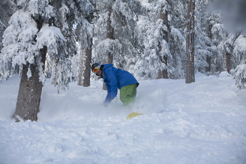 Powder days return to Arizona Snowbowl late February 2015.