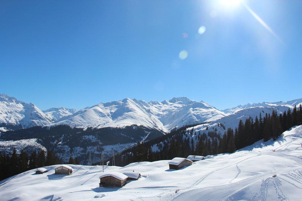 Grandioses Panorama in Disentis 3000 - © Skiinfo.de