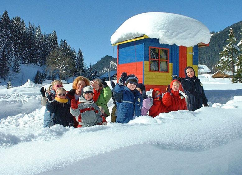 Kinderspaß in Nesselwängle - © Liftgesellschaft Nesselwängle