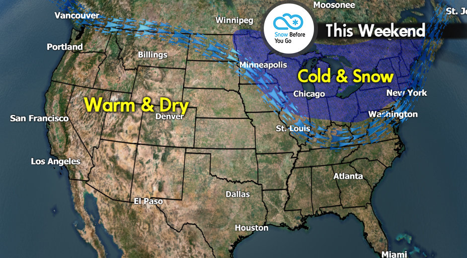 Snow Before You Go: Bluebird Skiing on Tap This Weekend - © Meteorologist Chris Tomer