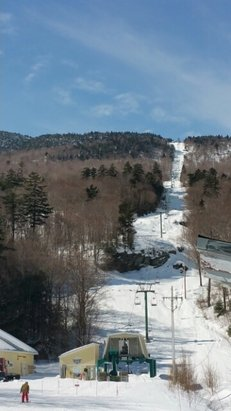 Mad River Glen - Wicked bumps, beautiful sunshine, wax your skis.  - © sd