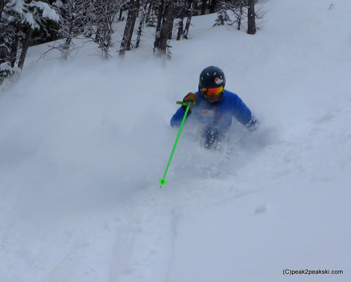 Nakiska Ski Area - Great pow  - © peak2peakski