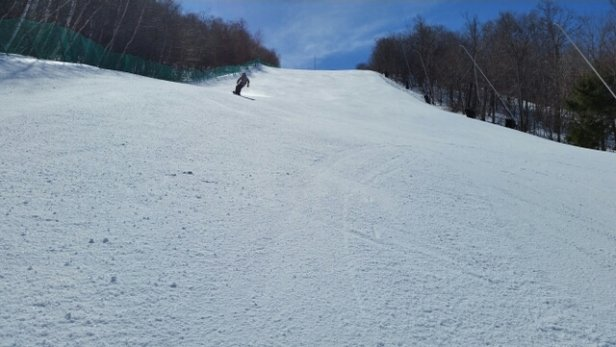 Jiminy Peak - Sweet spring day! Trails groomed well with no ice. - © glassbreaker0524