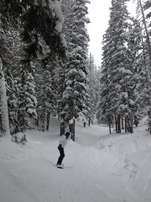 Monarch Mountain - [! skireport_firsthandpost_pagetitle ] - © valarietomme's iPhone