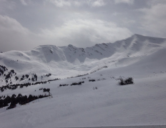 Marmot Basin - Absolutely fantastic!  Soft, packed snow and groomers and no crowds midweek.  This is the place to be for spring skiing. - © E=mc2