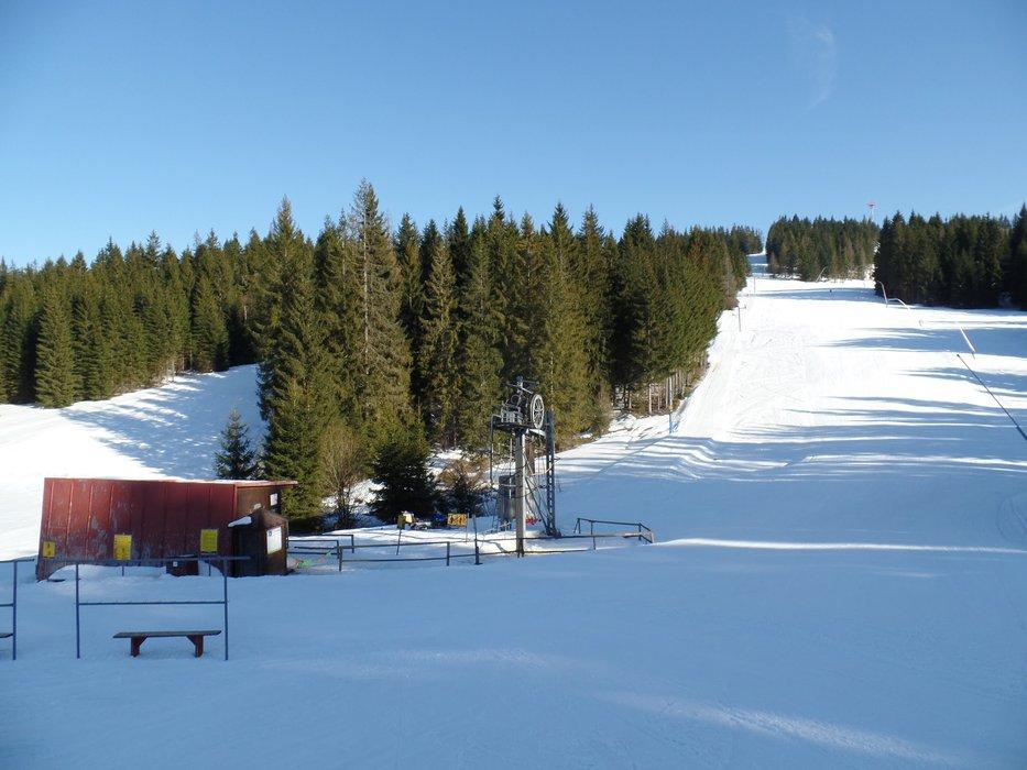 Lyžiarske stredisko Orava Snow sa nachádza v Oravskej Lesnej, v najchladnejšej doline na Slovensku - © Matej Petőcz