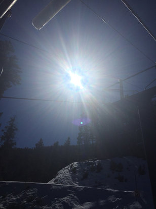 Sun Valley - Great day!! Spring conditions  - © Taylor's iPhone 6