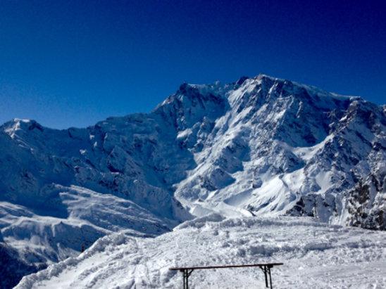 Macugnaga -   La est del monte Rosa  - © iPad