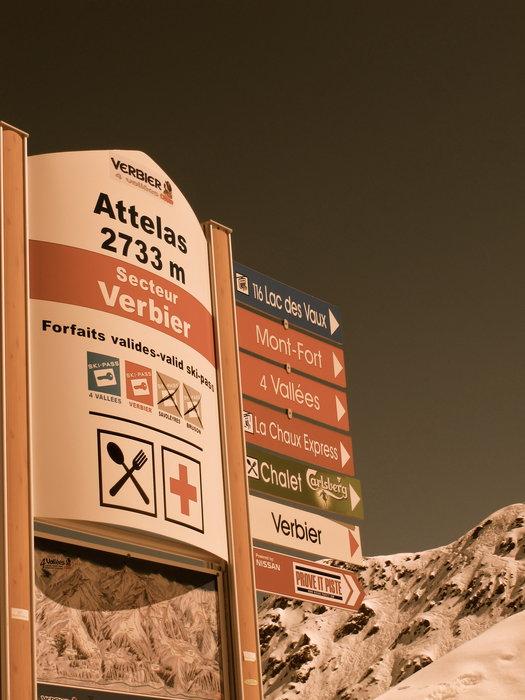 Attelas ist geöffnet - © Skigebiet Verbier