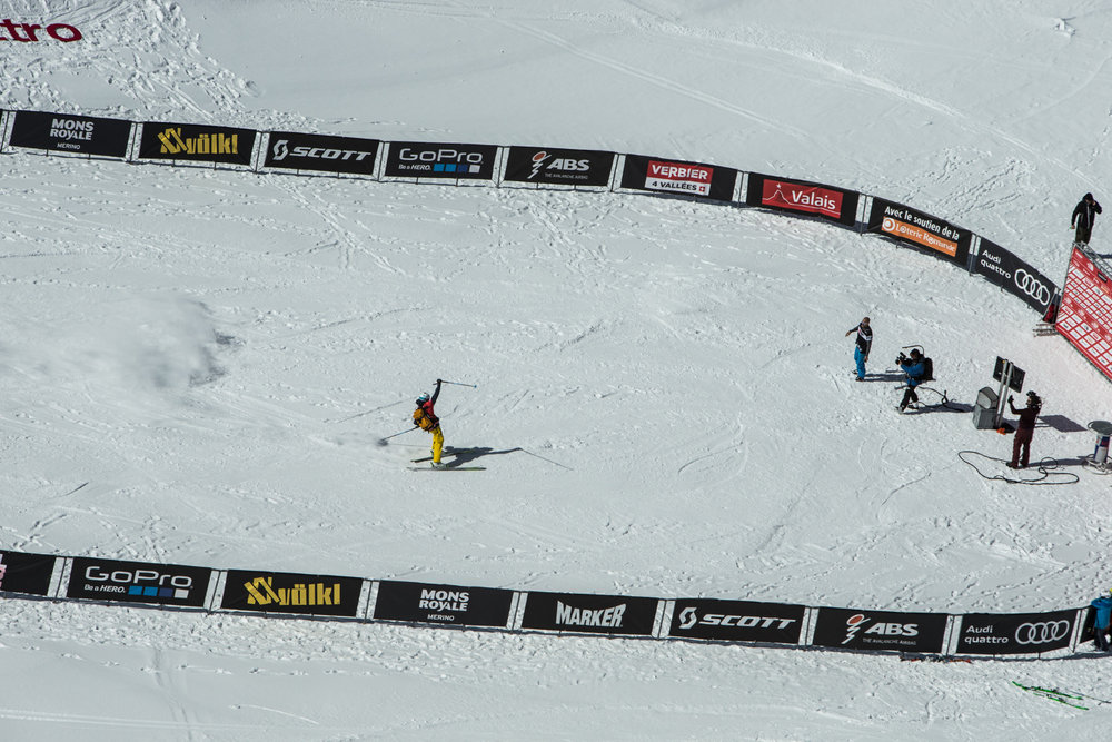 Freeride World Tour Finale Verbier 2015 - © David Carlier | Freeride World Tour