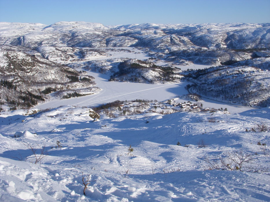 Sirdal, Tjørhomsfjellet - 13 Feb. 2010 - ©BorisG | BorisG @ Skiinfo Lounge