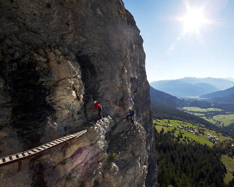 Klettersteig Flims - © Flims Tourismus