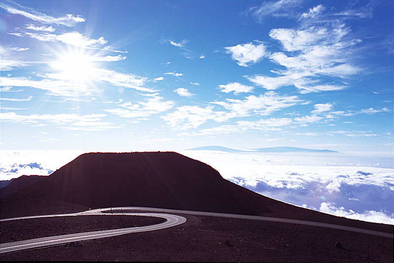 Magnetic Peak von Red Hill gesehen. An einem schönen Tag kann man Big Island in der Ferne sehen - © Hawaii Tourism Japan (HTJ)